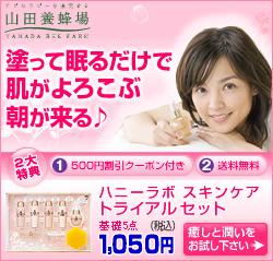 【山田養蜂場】国仲涼子さん「ハニーラボ シリーズ」